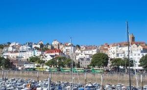 Guernsey town