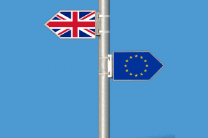 Brexit lampost