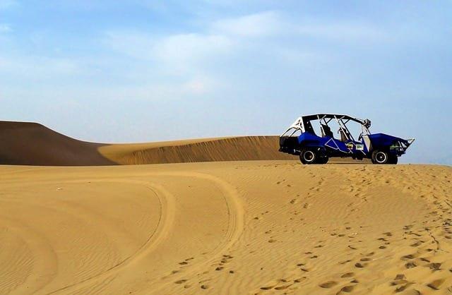 Desert Sand Dune Boogie Buggy Truck