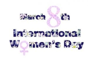 Womens day logo